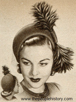 Head Hugging Helmet 1950