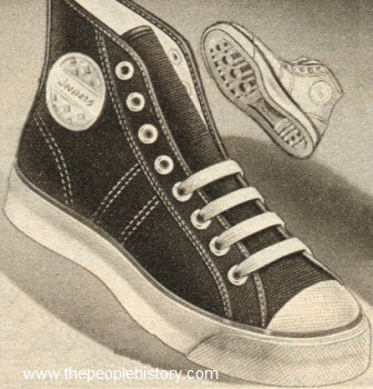 Jeepers Athletic Shoes 1950
