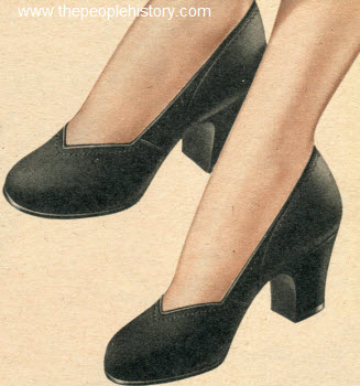 Leather Pump 1950
