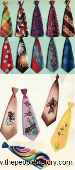 Pilgrim Men's Ties 1950