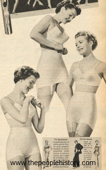 Playtex Girdles 1950