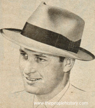 Ribbon Bounded Edge Brim Hat 1950