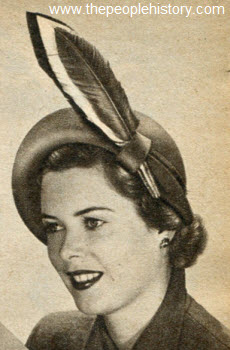 Side Swing Hat 1950