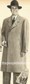 Boxy Fashion Tailored Coat 1950
