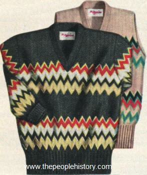 Raschel Knit Sweater 1950