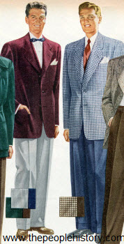 Sport Coat and Slacks 1950