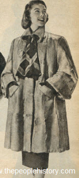 Dyed African Kidskin Coat 1951
