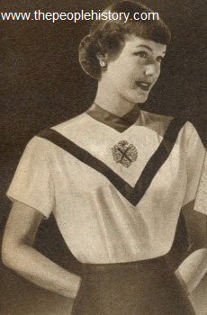 Embroidered Crest Shirt 1951