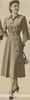 Menswear Suiting Dress 1951