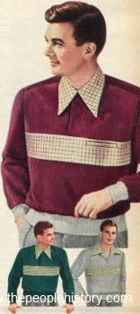 Pullover Corduroy Shirt 1951