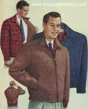 Reversible Cunningham Plaid Jacket 1951
