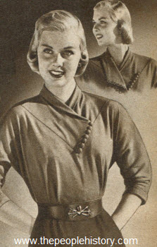 Side Button Collar Shirt 1951