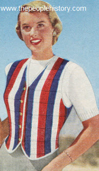 Smart Stripe Vestee 1951