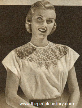 Sweetheart Blouse 1951