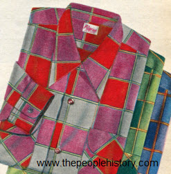 Block Plaid Shirts 1952
