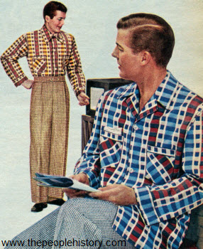 Broadcloth Pajamas 1952