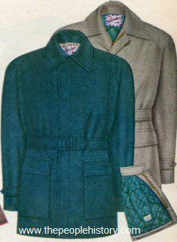 Long Walking Coat 1952