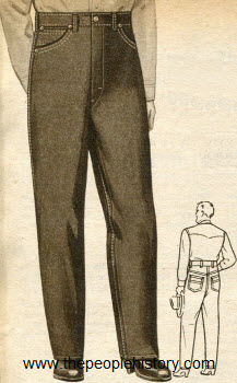 Selection Of Twenty 1950s Men S Fashion Clothing With