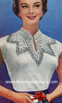 Cap Sleeve Pullover 1953