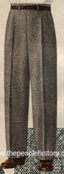 Donegal Tweed Trouser 1953