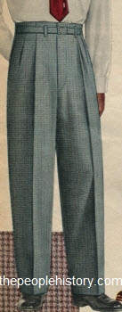 Fancy Check Trouser 1953