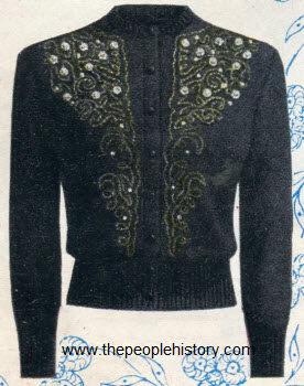 Fitted Cardigan 1953