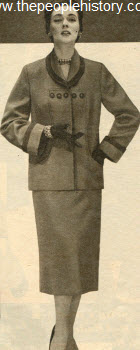 Box Jacket Suit 1954