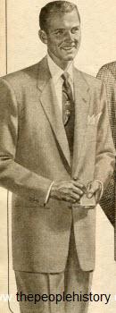 Selection of Twenty 1950s Men's Fashion Clothing with ... Dacron 1954
