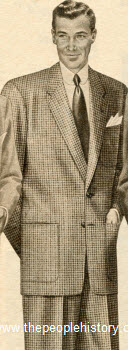 Wool Houndstooth Suit 1954