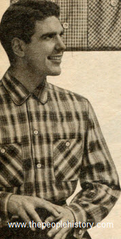 Wrinkle Shed Cotton Shirt 1954