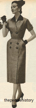 Coachman Dress 1955