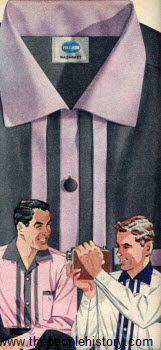 Pleated Front Shirt 1955