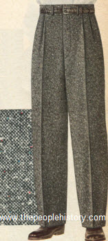 Tweed Trousers 1955