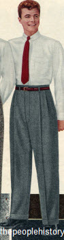 Flannel Trousers 1956
