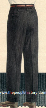 Back Strap Trousers 1957