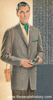 Flap Pocket Sport Coat 1957