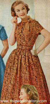 1957 Fashion Clothes Part Of Our Fifties Fashions Section