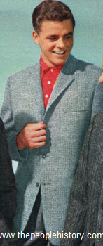 British Check Tweed Sport Coat 1958