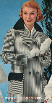 Cotton Car Coat 1959