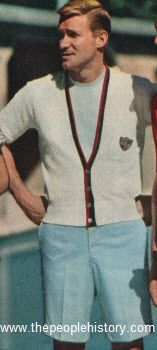 Short Sleeve Cardigan and Shorts 1959