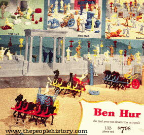 Play Ben Hur Set From The 1960s