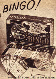 Bingo From The 1960s