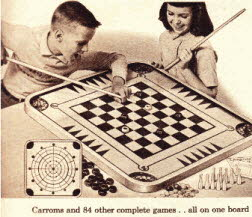 Carrooms Game From The 1960s