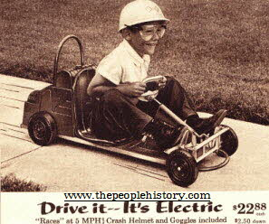 Electric Kart From The 1960s