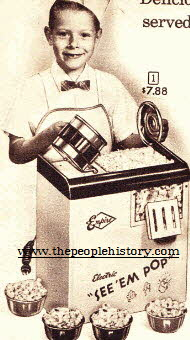 Popcorn Maker From The 1960s