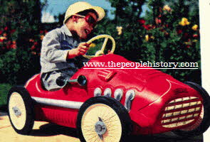 Racing Pedal Car From The 1960s