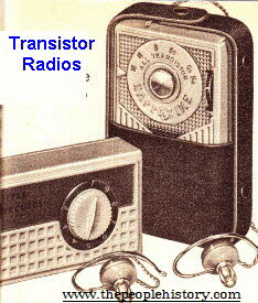 Transistor Radios  From The 1960s