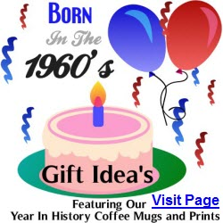 Born In The Sixties Gift Ideas