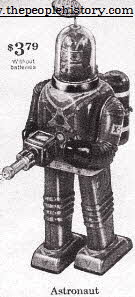 Astronaut Robot From The 1960s