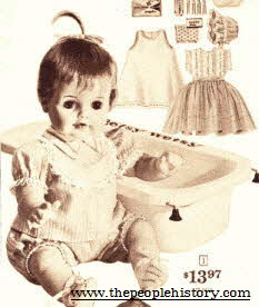 Betsy Wetsy Doll From The 1960s